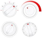 Colección del vector de interruptores Imagenes de archivo