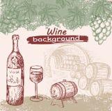 Colección del vino Imagen de archivo