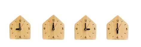 Colección el reloj sin números aislado Imagenes de archivo