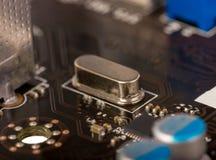 Colección electrónica - placa de circuito del ordenador Imagen de archivo