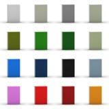 colección en blanco del rectángulo 3D Fotos de archivo