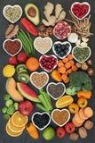 Colección estupenda grande de la comida Imagenes de archivo