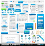 Colección extrema 2 de los elementos del diseño de Web libre illustration