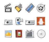 Colección fresca de los iconos universales - conjunto 4 Fotos de archivo libres de regalías