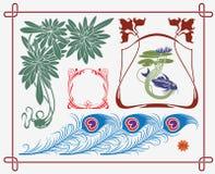 Colección histórica del diseño libre illustration