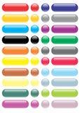 Colección inferior brillante/a todo color grandes stock de ilustración