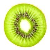Colección macra del alimento - rebanada del kiwi Fotografía de archivo libre de regalías
