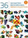 Colección mega de fondos abstractos Foto de archivo