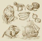 Colección náutica Fotografía de archivo