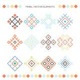 Colección tribal del vector Imágenes de archivo libres de regalías