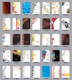 Colección un rollo-para arriba Imágenes de archivo libres de regalías