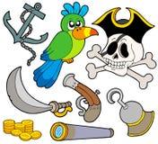 Colección 9 del pirata Fotografía de archivo
