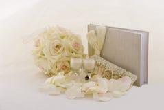Colección de la boda Fotos de archivo libres de regalías