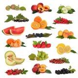 Colección de la fruta Imagenes de archivo