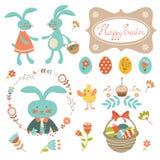 Colección de Pascua Imagen de archivo libre de regalías