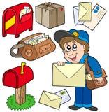 Colección del correo Imágenes de archivo libres de regalías