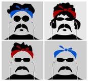 Colección del gángster Imagen de archivo