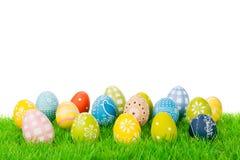 Colección del huevo de Pascua Imágenes de archivo libres de regalías