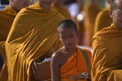 Colecciones tailandesas budistas de los monjes Fotos de archivo