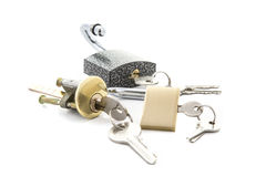 Free Colection Of Locks Royalty Free Stock Image - 72281536