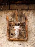 Colector animista tradicional del alcohol, Nepal Imagen de archivo libre de regalías