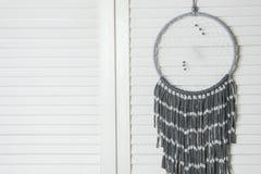 Colector del sueño del blanco gris Imagen de archivo libre de regalías
