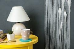 Colector del sueño del blanco gris en gris Fotografía de archivo libre de regalías