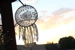 Colector del sueño de la puesta del sol de la montaña del desierto Imágenes de archivo libres de regalías