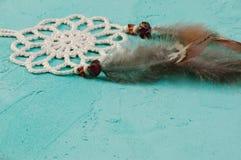 Colector ideal en la aguamarina Foto de archivo libre de regalías