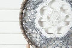 Colector ideal gris blanco Imagen de archivo libre de regalías