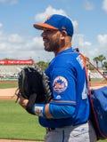 Colector Rene Rivera 2017 de los New York Mets imágenes de archivo libres de regalías