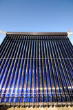 Colector solar evacuado de los tubos Imágenes de archivo libres de regalías