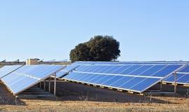 Colectores solares Foto de archivo