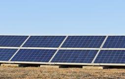 Colectores solares Fotografía de archivo