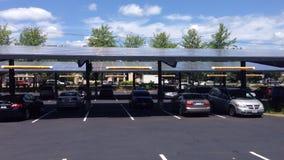 Colectores solares fotos de archivo