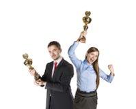 Colegas bem sucedidos do negócio Imagens de Stock Royalty Free