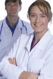Colegas médicos Foto de Stock Royalty Free