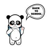 Colegial de la panda libre illustration
