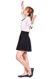 Colegiala adolescente en ropa formal Foto de archivo