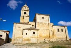 Colegiata de Nuestra Señora del Manzano, Castrojeriz - Spain Royalty Free Stock Images