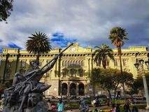 Colegio马尔多纳多, Riombamba 免版税库存照片