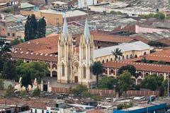 Colegio de La Presentacion Church Bogota Kolumbien Lizenzfreie Stockfotos