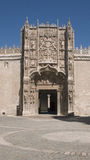 Colegio de San Gregorio. Valladolid. Spain. Royalty Free Stock Photos