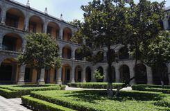 Colegio de San Ildefonso Imagens de Stock