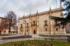 Colegio Mayor Santa Cruz Stock Photo