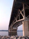 Coleman Bridge. The Coleman Bridge over the York River in Yorktown Virginia Royalty Free Stock Photos