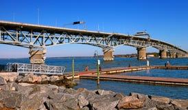 Coleman Bridge Royalty Free Stock Photos
