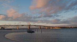 Coleman Bridge Stock Image