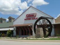 Coleman Factory Outlet Branson, Missouri Royaltyfria Bilder