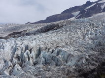 Coleman Glacier Fotografia Stock